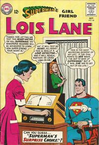 Cover Thumbnail for Superman's Girl Friend, Lois Lane (DC, 1958 series) #44