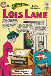 Cover Thumbnail for Superman's Girl Friend, Lois Lane (DC, 1958 series) #44