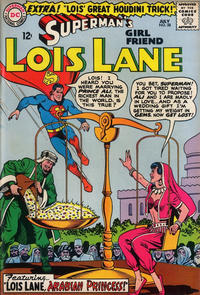 Cover Thumbnail for Superman's Girl Friend, Lois Lane (DC, 1958 series) #58