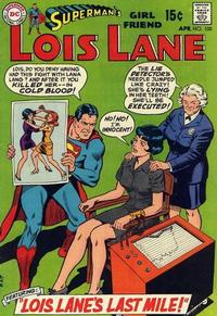 Cover Thumbnail for Superman's Girl Friend, Lois Lane (DC, 1958 series) #100
