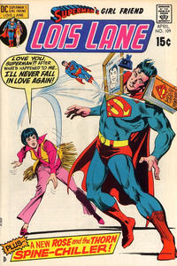 Cover Thumbnail for Superman's Girl Friend, Lois Lane (DC, 1958 series) #109