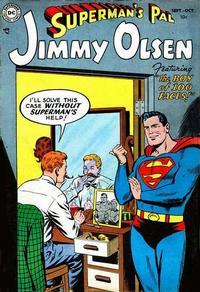 Cover Thumbnail for Superman's Pal, Jimmy Olsen (DC, 1954 series) #1