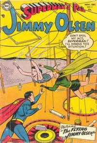 Cover Thumbnail for Superman's Pal, Jimmy Olsen (DC, 1954 series) #2