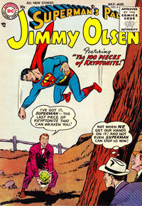 Cover Thumbnail for Superman's Pal, Jimmy Olsen (DC, 1954 series) #6