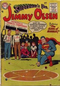 Cover Thumbnail for Superman's Pal, Jimmy Olsen (DC, 1954 series) #7