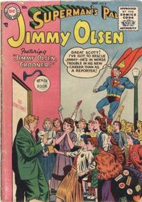 Cover Thumbnail for Superman's Pal, Jimmy Olsen (DC, 1954 series) #8