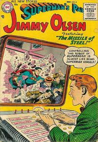 Cover Thumbnail for Superman's Pal, Jimmy Olsen (DC, 1954 series) #9