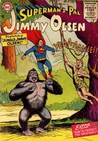 Cover Thumbnail for Superman's Pal, Jimmy Olsen (DC, 1954 series) #10