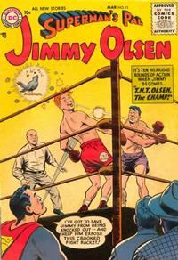 Cover Thumbnail for Superman's Pal, Jimmy Olsen (DC, 1954 series) #11