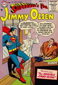 Cover Thumbnail for Superman's Pal, Jimmy Olsen (DC, 1954 series) #12