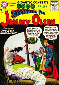 Cover Thumbnail for Superman's Pal, Jimmy Olsen (DC, 1954 series) #14