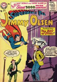 Cover Thumbnail for Superman's Pal, Jimmy Olsen (DC, 1954 series) #16