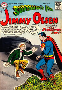 Cover Thumbnail for Superman's Pal, Jimmy Olsen (DC, 1954 series) #17