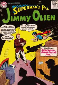 Cover Thumbnail for Superman's Pal, Jimmy Olsen (DC, 1954 series) #18