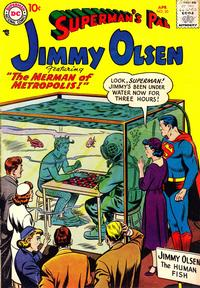 Cover Thumbnail for Superman's Pal, Jimmy Olsen (DC, 1954 series) #20