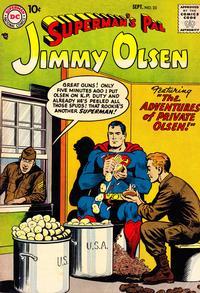 Cover Thumbnail for Superman's Pal, Jimmy Olsen (DC, 1954 series) #23