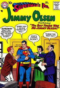Cover Thumbnail for Superman's Pal, Jimmy Olsen (DC, 1954 series) #25