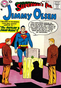 Cover Thumbnail for Superman's Pal, Jimmy Olsen (DC, 1954 series) #27