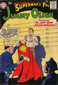 Cover Thumbnail for Superman's Pal, Jimmy Olsen (DC, 1954 series) #28
