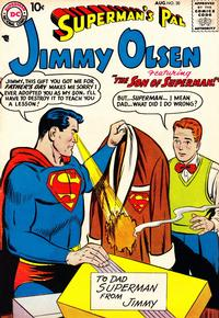 Cover Thumbnail for Superman's Pal, Jimmy Olsen (DC, 1954 series) #30