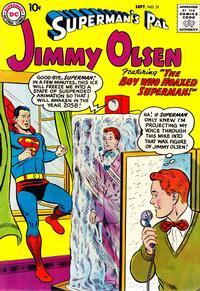 Cover Thumbnail for Superman's Pal, Jimmy Olsen (DC, 1954 series) #31