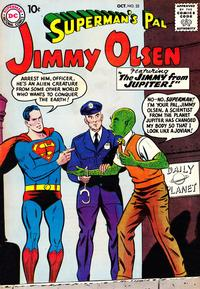 Cover Thumbnail for Superman's Pal, Jimmy Olsen (DC, 1954 series) #32