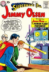 Cover Thumbnail for Superman's Pal, Jimmy Olsen (DC, 1954 series) #33