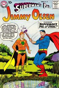Cover Thumbnail for Superman's Pal, Jimmy Olsen (DC, 1954 series) #34