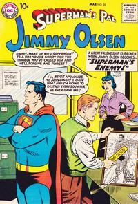 Cover Thumbnail for Superman's Pal, Jimmy Olsen (DC, 1954 series) #35