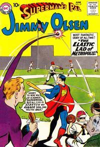 Cover Thumbnail for Superman's Pal, Jimmy Olsen (DC, 1954 series) #37
