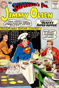 Cover Thumbnail for Superman's Pal, Jimmy Olsen (DC, 1954 series) #38