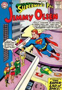 Cover Thumbnail for Superman's Pal, Jimmy Olsen (DC, 1954 series) #39