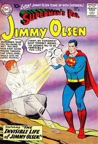 Cover Thumbnail for Superman's Pal, Jimmy Olsen (DC, 1954 series) #40