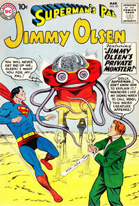 Cover Thumbnail for Superman's Pal, Jimmy Olsen (DC, 1954 series) #43