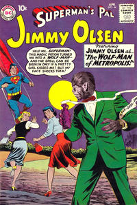 Cover Thumbnail for Superman's Pal, Jimmy Olsen (DC, 1954 series) #44