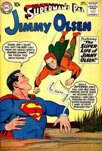 Cover Thumbnail for Superman's Pal, Jimmy Olsen (DC, 1954 series) #50