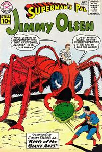 Cover Thumbnail for Superman's Pal, Jimmy Olsen (DC, 1954 series) #54