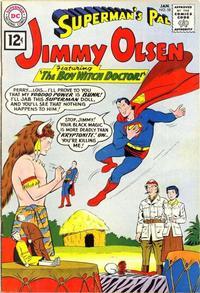 Cover Thumbnail for Superman's Pal, Jimmy Olsen (DC, 1954 series) #58