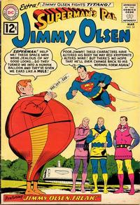 Cover Thumbnail for Superman's Pal, Jimmy Olsen (DC, 1954 series) #59