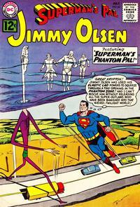 Cover Thumbnail for Superman's Pal, Jimmy Olsen (DC, 1954 series) #62
