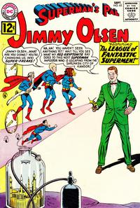 Cover Thumbnail for Superman's Pal, Jimmy Olsen (DC, 1954 series) #63