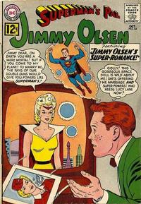 Cover Thumbnail for Superman's Pal, Jimmy Olsen (DC, 1954 series) #64