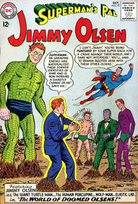 Cover Thumbnail for Superman's Pal, Jimmy Olsen (DC, 1954 series) #72