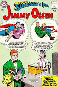 Cover Thumbnail for Superman's Pal, Jimmy Olsen (DC, 1954 series) #75
