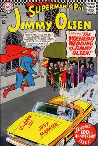 Cover Thumbnail for Superman's Pal, Jimmy Olsen (DC, 1954 series) #100