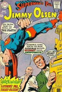Cover Thumbnail for Superman's Pal, Jimmy Olsen (DC, 1954 series) #109