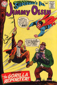 Cover Thumbnail for Superman's Pal, Jimmy Olsen (DC, 1954 series) #116