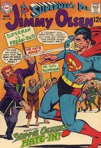Cover Thumbnail for Superman's Pal, Jimmy Olsen (DC, 1954 series) #118