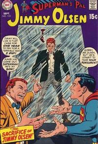 Cover for Superman's Pal, Jimmy Olsen (DC, 1954 series) #123