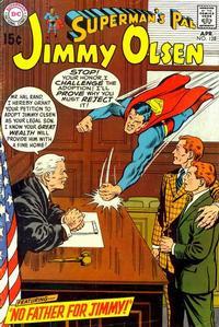 Cover Thumbnail for Superman's Pal, Jimmy Olsen (DC, 1954 series) #128